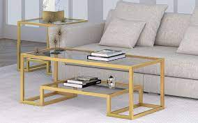 10 best gold and glass coffee tables