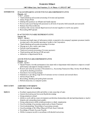 Resume Examples For Any Job Best Of Accounts Payable Representative Resume Samples Velvet Jobs