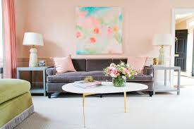 Peach Colored Bedrooms Designing With Pastels For Summer