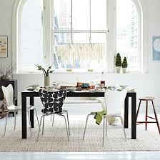 yep that s pretty much the dream kitchen table parsons kitchen table west elm expandable up to 96
