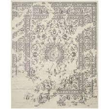 adirondack ivory silver 11 ft x 15 ft area rug adirondack