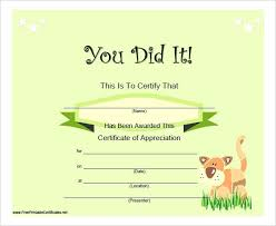 Free Online Printable Certificates Of Achievement Certificate Of Completion Landscape Bubbles Free Online Courses With
