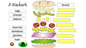 English stuff ESL: YOUR FAVOURITE SANDWICH (activities for ...