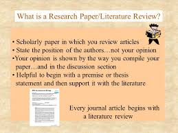 Apa Writing Style I Introduction Why We Write Research Papers  Throughout    Charming Example Of A Literature Review