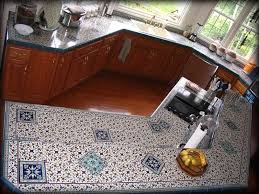 decorative tiled kitchen countertops