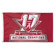 wincraft alabama crimson tide college football playoff 2017 national champions 3 x 5 1 on alabama elephant wall art with alabama crimson tide wall art university of alabama banners bama