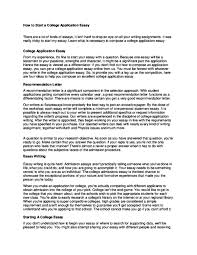 Starting Essays Doc How To Start A College Application Essay Staf Join