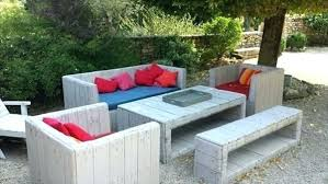 outside furniture made from pallets. Wood Pallet Lawn Furniture Garden Image Outdoor Arrangement Outside Made From Pallets G