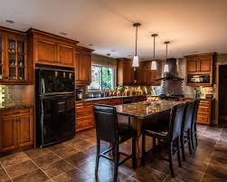 ... Kitchen Kitchen Design With Black Appliances And Kitchen Garden Design  Perfected By Attractive Surroundings Of Your