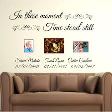 customized wall decals in these moments time stood still custom name lettering wall decals vinyl quotes  on custom vinyl wall art canada with customized wall decals wall decal inspirational waiting room