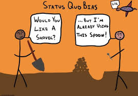 status quo bias biases heuristics