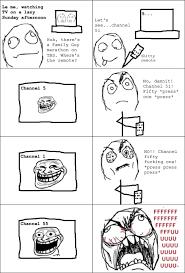 Troll Face Meme - Television remote via Relatably.com