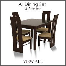 brilliant 4 seater dining set four seater dining table and chairs dining room sets 4 chairs ideas