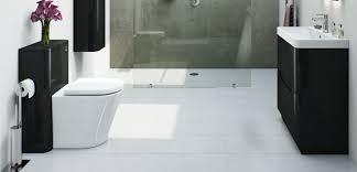white bathroom flooring. monochrome magic - 8 reasons why a black and white bathroom works flooring
