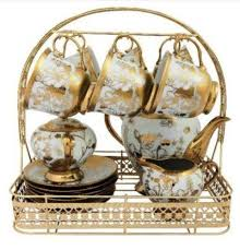 Tea Set Display Stand For Sale Adorable Fine Bone China Tea Set EBay