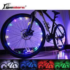 20 LED Waterproof <b>Colorful Bicycle Lights</b> MTB Road Bike Wheel ...