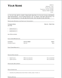 Printable Blank Resume Cool May 48 Ptctechniques
