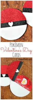 Pokémon Valentine's Day Cards {15-Minute Craft Lightning} - Gagen Girls