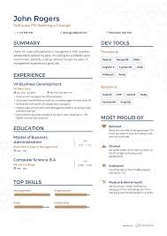 Examples Of Resumes By Enhancv Sample Resume S Pinterest