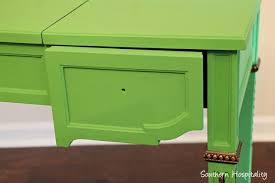 painted vintage furniturePainting Vintage Furniture Green  Hometalk