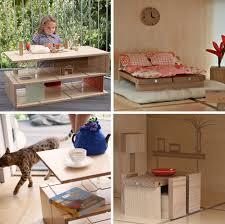 dollhouse modern furniture. Fine Dollhouse Crafty Coffee Table Doubles As Modular Modern Dollhouse  Designs U0026 Ideas  On Dornob Intended Furniture