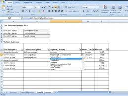 Rental Template Excel Rental Property Spreadsheet Template Excel Debt Snowball