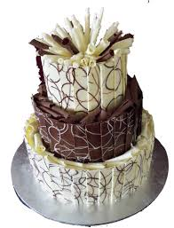 Wedding Chocolate Truffle Cake Wedding Cakes Cakes By Occassions