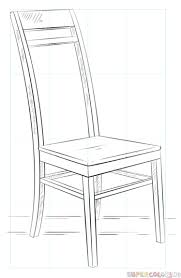 chair drawing. how to draw a chair drawing