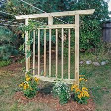 multi purpose garden trellis plans