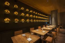 into lighting. Roka Aldwych Restaurant By Into Lighting, DesignLSM And Claudio Silvestrin Architects Lighting