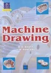 cover of abc geometrical and machine drawing n d bhatt