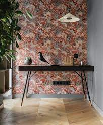 75 Beautiful Wallpaper Home Office ...