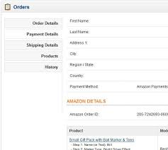 Stack Amazon Overflow - Back-office In Missing Details Opencart Payments Order