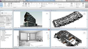 3d views of the exterior interior and a single room in a building