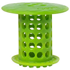 drain protector hair catcher in green