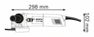 угловая <b>шлифовальная машина bosch gwx</b> 10-125 06017b3000 ...