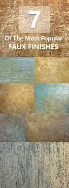 7 Of The Most Popular Faux Finishes  Textured PaintingFaux Painting WallsPainting  ...