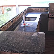 granite outdoor kitchen countertop w 3 8 radius top bottom edge