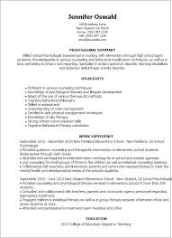 Psychology Resume Template Best of Psychology Resume Template Ppyrus