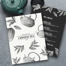 Menugo Chinese Tea Menu Template