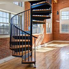 exterior straight staircase kit. classic steel spiral stairs exterior straight staircase kit m