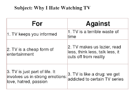 opinion essay television similar articles