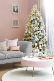 christmas living room decorating ideas. Living Room Christmas Decorating Ideas Luxury Winter Blush Pink Decor