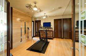 home gym lighting. home gym ideas contemporary with recessed lights mirrored wall lighting