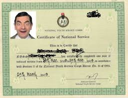 Nysc Exemption And Exclusion With Their Sample Certificates Letter
