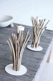 driftwood crafts and decorations for creating table decor in eco style