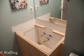 Vanity : How To Install A Bathroom Sink Drain P Trap How To Close ...