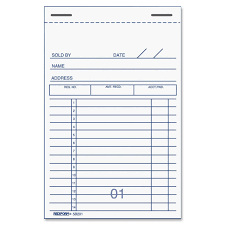 Book Receipt Format Receipt Pad Template Besikeighty24co 17