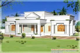 Kerala Home Design One Floor Plan Single Storey Kerala House Model With Kerala House Plans