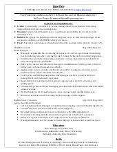 retail manager sample resume retail manager sample resume